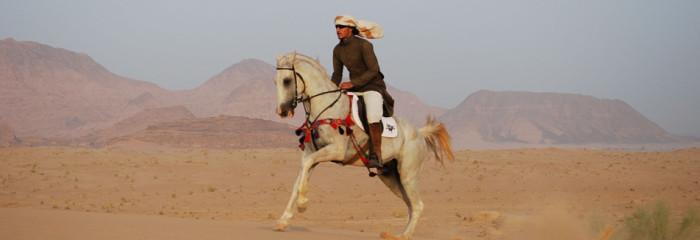 Sulle orme di Lawrence d'Arabia